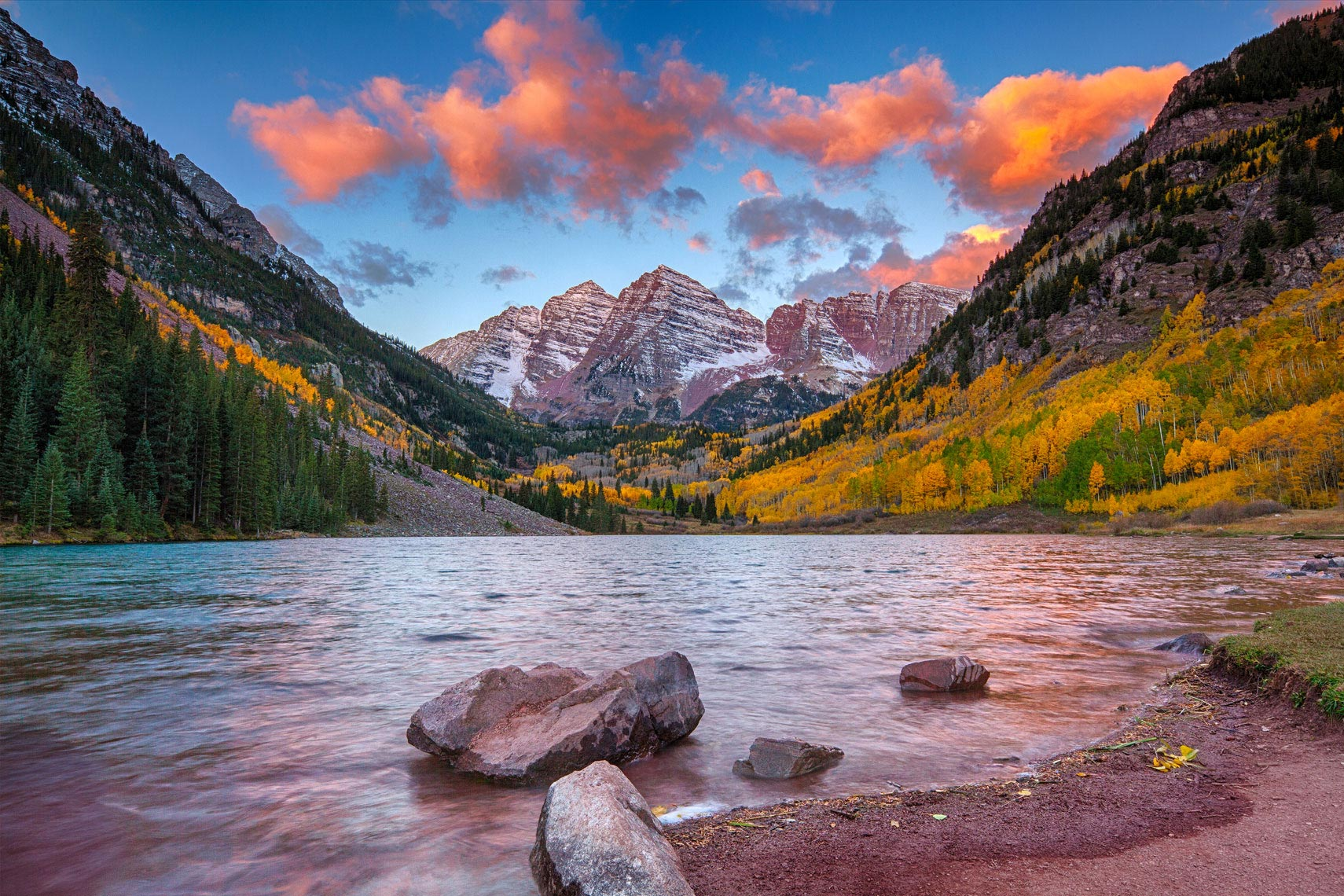 Maroon-Bells-Sunrise